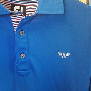 FootJoy Golf Polo Wonder Woman Logo Like New